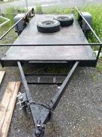 12'x6' 3700lbs axel utility trailer