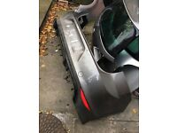 Vw Golf R MK7 Rear Bumper With Parking Sensors and Diffuser