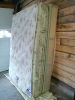 Dual Pillow Top Double Mattress, Boxspring, Frame - Delivery