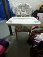 MiSwivel high chair newborn to toddler.