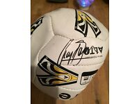 Signed CRAIG BELLAMY football