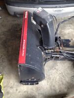 "Lawn Tractor 40"" Snowblower Attachment"