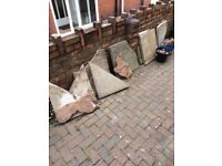 Old Paving Slabs FREE
