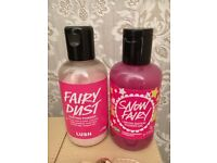 Lush Snow Fairy Shower Gel 100g Lush Fairy Dust 70g