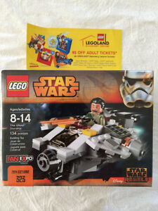 Lego Star Wars Rebels Ghost Starship - FanExpo Canada exclusive!