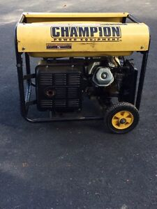 Generatrice Champion Generator 4500W - 5800W