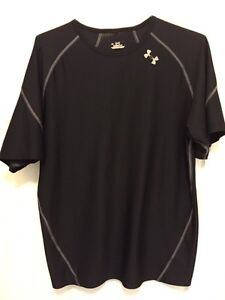 Two black Under Armor shirts. Practically new! London Ontario image 2