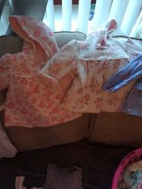 Baby girl bundle 0-3 3-6