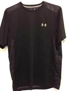 Two black Under Armor shirts. Practically new! London Ontario image 4