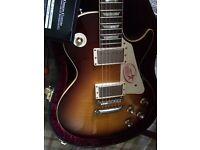 Gibson les paul Custom Shop 1960 vos R0 faded tobacco