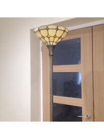 Tiffany up lighter lamp