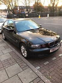 Bmw e46 compact 1.6 TI spares or repairs