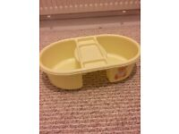 Baby bath top and tail bucket
