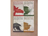 Game of Thrones Graphic Novels Complete Series 1-4
