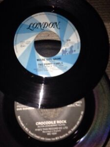Original 45 records- 12 of them, early-mid 70's Kitchener / Waterloo Kitchener Area image 3