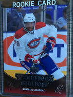 hockey card - P.K, Subban young gun rookie card