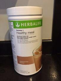 Herbalife F1 cappuccino shake