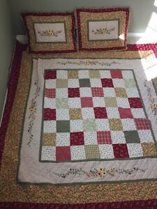 Quilted Double Bedspread