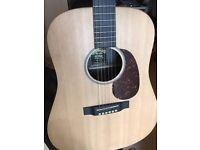Martin DX1RAE Acoustic Guitar + hardcase