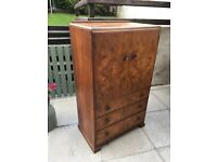 Vintage tall boy chest