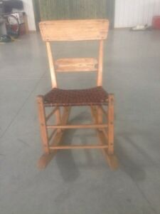 1920's Antique Quebec Rocker in excellent condition!