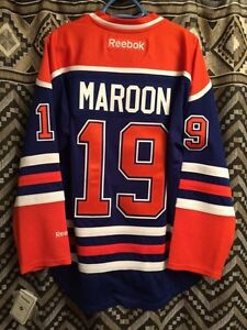 Oilers Maroon Jersey - Small-New