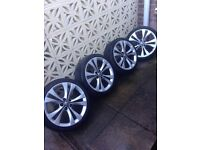 Vauxhall insignia 20 alloys with tyres