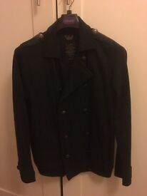 Men's military style jacket/ top