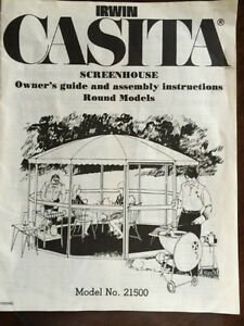 CASITA GAZEBO TOP  (NOT THE FRAME) PRICE DROP $150.00