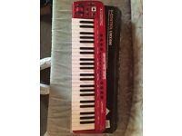 Midi keyboard used once like new in box