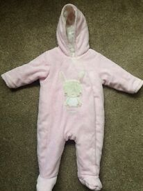Baby snowsuit 3-6 months from mothercare