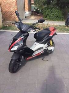 2009 Aprilia 70cc Fast Scooter very good Condition Spearwood Cockburn Area Preview