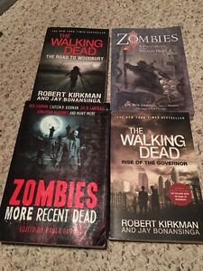 (2) Walking Dead Books + (2) Other Zombie Books