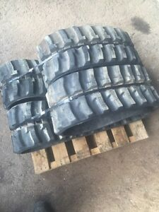 250x72x45 rubber tracks (pair)