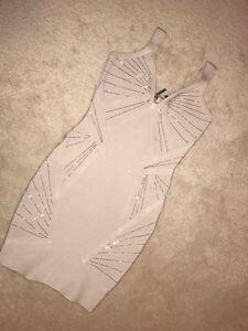 Marciano nude bandage dress size xxs