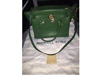 Green genuine Michael kors bag.