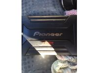 Pioneer 4 channel amplifier 760 watt