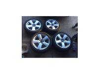 17 ford 5x112 alloy wheels