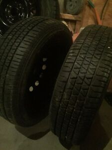 4  tires and rims for Honda Civic Kitchener / Waterloo Kitchener Area image 4
