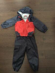 Toddler 2/3 lined jacket & pants
