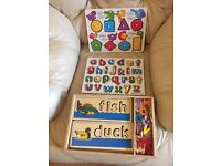 Melissa & Doug Wooden Toy Collection