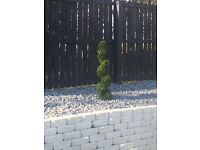Artificial Topiary Spiral Tree