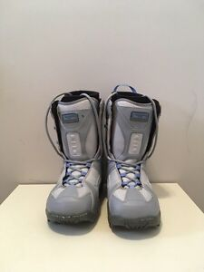 Woman size 9 snowboard boots