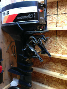 Yamaha outboard motors boats for sale in newfoundland for Yamaha enduro 40 hp outboard