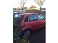 Red Vauxhall Corsa 2003- best first car/cheap/full service host and MOT