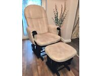 Tutti Bambini Rocking / Glider Chair and Stool