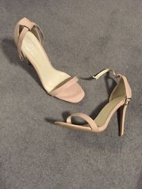 Nude shoes size 8