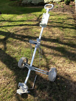 CHARIOT DE GOLF À VENDRE // GOLF TROLLEY // PUSH CART FOR SALE