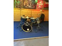 Pearl export drum kit with cymbals and hardware no drum Thorne