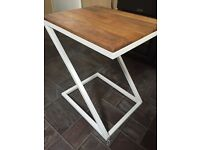 Swoon Side table chalk white 'brand New' (RRP £119) Bargain £85